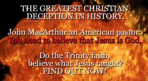 THE GREATEST CHRISTIAN DECEPTION IN HISTORY John MacArthur An American Pastor You Need To