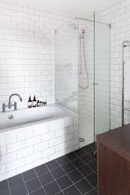 subway tile shower surround comfortable bathroom border tiles for