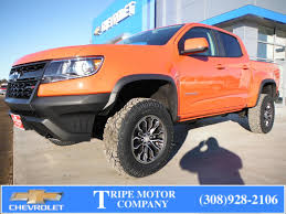 100 Select Truck Alma NE New 2019 Chevrolet Colorado Tripe Motor Co