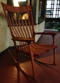 sam maloof rocking chair class sculpted rocker maloof inspired gpd academy