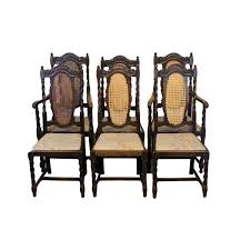 Antique Oak Dining Chairs, Set Of 6 Marvellous High Ding Chairs Set Of 4 Astonishing Fniture Barley Twist Table Images Round Room Tables 1940s Vintage Or Kitchen Of Antique Edwardian Oak Draw Leaf Carved Pair Wood Throne Amazing Detail 1850 Twist Ding Room Table And 6 Chairs Renaissance At English Jacobean Chair Amazoncom Rustic Gate Leg For Its The Perfect Entertaing Family Friends