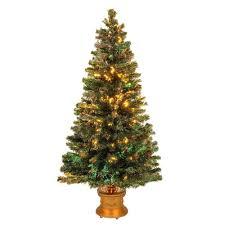 Fiber Optic Led Christmas Tree 6ft national tree company 5 ft fiber optic fireworks evergreen