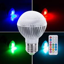 corner multi color w e rgb led bulb light flash bulb also key