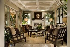 British Colonial Living Room I Like The Banned Lamp Shades And Matching Lamps Chocolate Brown West Indies