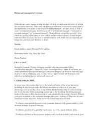 Resume Objective Examples Management Gecce Tackletarts Co Rh Sport Risk