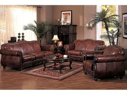 Brown Leather Sofa Living Room Ideas by Modest Ideas Brown Leather Living Room Set Pretty Inspiration