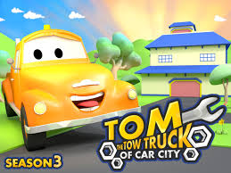 Amazon.com: Tom The Tow Truck Of Car City: Charles Courcier, Edouard ...
