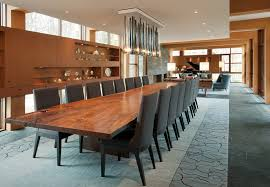 A live edge table by Hudson Furniture can seat a crowd in the