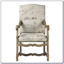 french script chair cushions chairs home decorating ideas