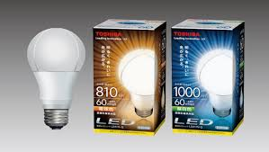 toshiba new heat dissipation for led bulbs technology japan bullet