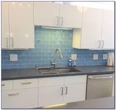 sea green glass tile backsplash tiles home design ideas