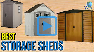 Suncast Outdoor Vertical Storage Shed by Top 9 Storage Sheds Of 2017 Video Review