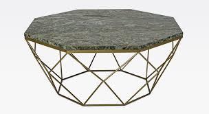 casa padrino luxus couchtisch gold grün 92 x 92 x h 40 cm 8 eckiger wohnzimmertisch mit marmorplatte und metallgestell moderne wohnzimmer möbel