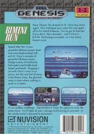 Bimini Run Box Shot for Genesis GameFAQs