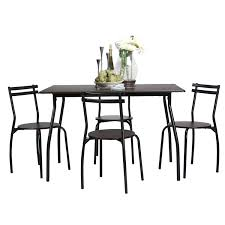 Amazon.com - Coavas 5pcs Dining Table Set Kitchen Rectangle Dining ... Amazoncom Coavas 5pcs Ding Table Set Kitchen Rectangle Charthouse Round And 4 Side Chairs Value City Senarai Harga Like Bug 100 75 Zinnias Fniture Of America Frescina Walmartcom Extending Cream Glass High Gloss Kincaid Cascade With Coaster Vance Contemporary 5piece Top Chair Alexandria Crown Mark 2150t Conns Mainstays Metal Solid Wood Round Ding Table Chairs In Tenby Pembrokeshire Phoebe Set Marble Priced To Sell