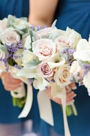 Wedding Flowers By Dc Florist York With Roses Calla Lilies Soft Tone Peach Lavender