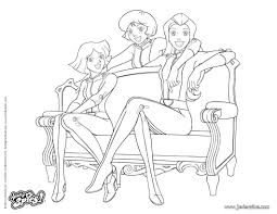 Coloriage En Ligne Gratuit Totally Spies Best Of Coloriage Lionel