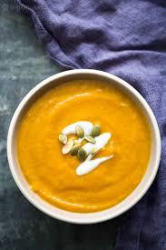Pumpkin Bisque Recipe Vegan by Spicy Pumpkin Soup Recipe Simplyrecipes Com
