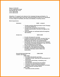 8 Massage Therapy Resume Examples New Hope Stream Wood Therapist Template