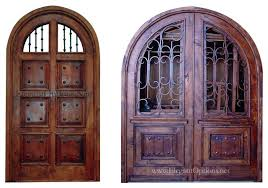 Spanish Style Front Door Rustic Doors Custom Handcrafted Solid Wood