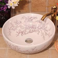 chinesischen stil waschbecken feine keramik badezimmer waschbecken waschbecken farbe waschbecken
