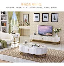 tv ständer wohnzimmer monitor stand mueble stalinite edelstahl marmor designer tv tisch kaffee centro tisch ecke tabelle