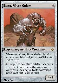 karn silver golem artifact beatdown and control multiplayer