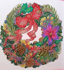 84 Best Magical Christmas Coloring Book Images On Pinterest