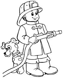 Sam Le Pompier 42 Dessins Animés Coloriages À Imprimer