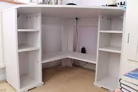ikea borgsjo corner desk computer white ikea borgsjö corner desk white ebay