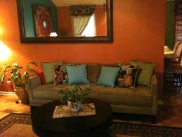 Teal Living Room Decorations by Articles With Orange Brown Living Room Decor Tag Ripping And