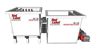 Moving Bed Filter 30 35 Aquaking Red Label Series