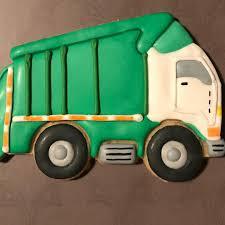 100 Dump Truck Cookie Cutter Garbagetruckcookies Hash Tags Deskgram