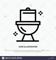 badezimmer wc waschraum symbol leitung vektor stock