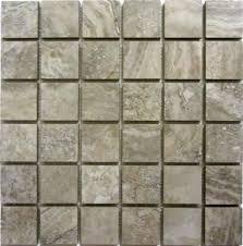 Menards 3 Drain Tile by Florim Usa Millennium Stone 12 X 12 Glazed Porcelain Mosaic Tile