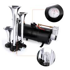 4 Trumpet Train Air Horn Kit, Meditool Loud 145 Decibels With 120 ... Train Horn Kit For Truck Kleinn Pro Blaster Air Kits Horns Trucks Canada Best Resource 150psi 150db 12v Car 6 Liter Tank Compressor 4 Buy Iglobalbuy 125db Black Musical La Cucaracha 5 Trumpet Heavy Duty Emergency Fire Commercial Installing On Your Kit Tips Demo Of Hornblasters Install Truckin Magazine And Aw Direct Lubbock Knight Knights Clean And Mean 2014 Ram 2500 Model Hk6 Triple Hk9 Best Price Larath Car Boat Truck 178db 12v Air Horn Compressor Dual