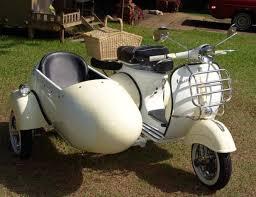 1964 Vespa VBB 150cc With Sidecar