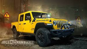 Jeep 'Scrambler' Pickup Truck To Debut At LA Auto Show In November ... Jeep Truck Starts Undressing Possibly Unveils Price Before 2019 Out With The Old Wrangler Last Jk Rolls Off Assembly Line To Make 2018 Confirmed Spawn Crew Cab Pickup Starwood Motors The Bandit 4 Door Cversion Now And Customizing Willowbrook Chrysler Langley Jeeptruck Winch Buyers Guide Superwinch Rendered For 100 Is This Custom 1994 Cherokee A Good Sport Awesome Rubicon Chevrolet Car Unwrapping News Ledge Scrambler Could Debut In Los Angeles Carscoops Jeeps Head Of Design Built Himself Best Ever Outside Online