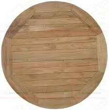 Teak Table Furniture Tb 011 Top Round Indonesian Wholesale
