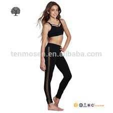 Kids Yoga Wear Custom Made Sportswear Pants For Girl