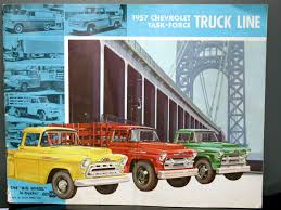 1957 Chevrolet Task-Force Truck Line | Brochures And Catalogs | HobbyDB Product Catalogs Qingdao Greenmaster Industrial Co Ltd Custom Truck Parts Accsories Tufftruckpartscom Garbage Truck Lego Classic Legocom Gb Christine Perkins Big Country Catalog 2012 Restoration By Chevs Of The 40s Gsx R 750 Wiring Diagram Also Gt Forklift Ivecopoweeparttrucksbusescatalogs97099 10th Edition National Depot 194879 Ford Catalog See Snapon Releases Heavyduty Tools Mitsubishi Fuso Trucks Japan How To Use China Parts In Right Way Hubei Dong