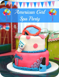 American Girl Party Spa From MamaMommyMom