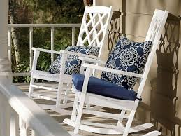 Modern Concept Outdoor Rocking Chair Cushion Sets With s