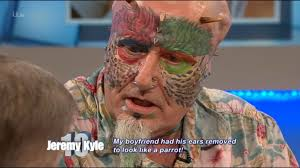 Parrot Caught Singing Bodies Hit The Floor by Parrot Man U0027 Who Chopped Off His Own Ears To Morph Into A Bird