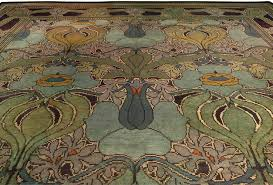 Arts & Craft Voysey Carpet BB4307 by Doris Leslie Blau