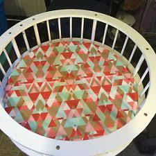 Round Bassinet Bedding by Badger Basket Nursery Furniture Ebay