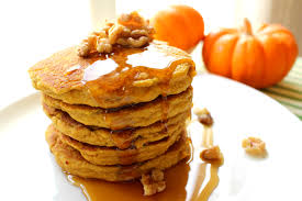 Healthy Pumpkin Desserts by Pumpkin Protein Pancakes Lettuce Be Healthy With Kim Lam
