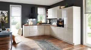 zeitlos schöne l küche nolte küchen mit front in hochglanz