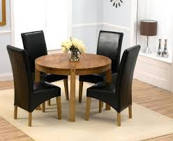Small Dining Table For 4 Elegant Round Glass Sets Extending