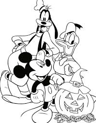 Disney Halloween Coloring Pages Kids